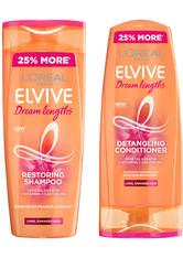 L'Oréal Paris Elvive Dream Lengths Shampoo and Conditioner Set - Exclusive