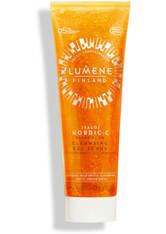 Lumene Gesichtsreinigung Lumene Nordic-C [VALO] Clear Glow Cleansing Gel Scrub Gesichtspeeling 125.0 ml