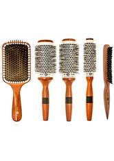 HEAD JOG - Head Jog Wood Ceramic Brush Set - HAARBÜRSTEN, KÄMME & SCHEREN