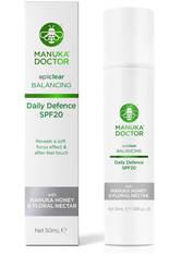 MANUKA DOCTOR - Manuka Doctor ApiClear Daily Defence SPF20 Cream - TAGESPFLEGE