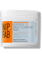 NIP+FAB - NIP + FAB Glycolic Fix Daily Cleansing Pads - 60 Pads - CLEANSING