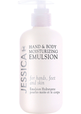JESSICA NAILS - Jessica Hand & Body Moisturising Emulsion (250 ml) - HÄNDE