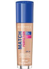 Rimmel Match Perfection Foundation 30ml 300 Sand (Medium, Neutral)
