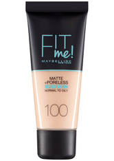 Maybelline Fit Me! Matte and Poreless Foundation 30ml (verschiedene Farbtöne) - 100 Warm Ivory