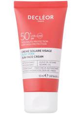 DECLÉOR Aloe Vera Suncare Face Cream SPF50+ 50ml