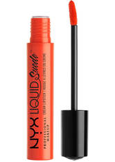 NYX Professional Makeup Liquid Suede Cream Lipstick (Various Shades) - Orange County