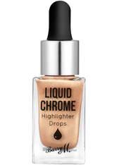 Barry M Cosmetics Liquid Chrome Highlighter (Various Shades) - Liquid Fortune