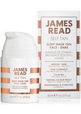 James Read - Sleep Mask Tan Go Darker Body, 200 Ml – Körpergel Mit Selbstbräuner - one size
