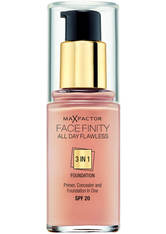 MAX FACTOR - Max Factor Facefinity 3 in 1 All Day Flawless Foundation - 80 Bronze - FOUNDATION