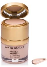 Daniel Sandler Invisible Radiance Foundation and Concealer 30g Porcelain (Fair, Neutral)
