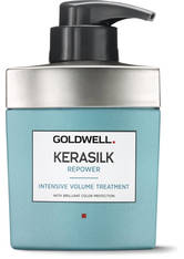 GOLDWELL - Goldwell Kerasilk Repower Intensive Volumen Behandlung 500 ml Haarkur - Haarserum