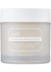 KLAIRS - Dear Klairs Produkte Dear Klairs Produkte Klairs Fundamental Water Gel Cream Gesichtscreme 70.0 ml - Tagespflege