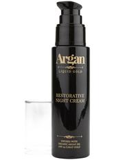 ARGAN LIQUID GOLD - Argan Liquid Gold Restorative Nachtcreme 50 ml - MAKEUP PINSEL