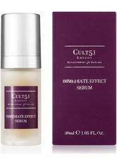 CULT51 - Cult51 Produkte Immediate Effect Serum Anti-Aging Gesichtsserum 30.0 ml - SERUM