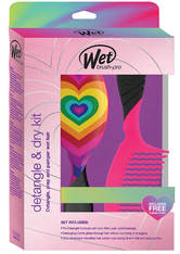 WetBrush Detangle and Dry Kit: Detangler, Comb and Hair Turban
