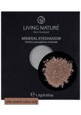 LIVING NATURE - Living Nature Eyeshadow 1,5 g- verschiedene Farbtöne - Brown - LIDSCHATTEN