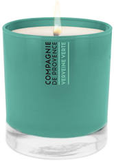 COMPAGNIE DE PROVENCE - Compagnie de Provence Green Verbena Scented Candle 260g - DUFTKERZEN