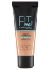 Maybelline Fit Me! Matte and Poreless Foundation 30ml (Various Shades) - 330 Toffee - MAYBELLINE