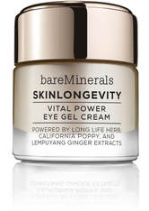 BAREMINERALS - bareMinerals Gesichtspflege Augenpflege SkinLongevity Vital Power Eye Gel Cream 15 g - AUGENCREME