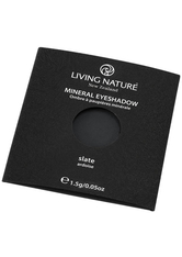 LIVING NATURE - Living Nature Eyeshadow 1,5 g- verschiedene Farbtöne - Black - LIDSCHATTEN