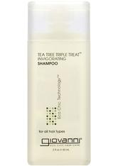 GIOVANNI - Giovanni Tea Tree Triple Treat Shampoo 60ml - SHAMPOO