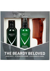 MEN ROCK - Men Rock The Beardy Beloved Beard Care Starter Kit - Sicilian Lime - BARTPFLEGE