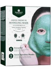 SHANGPREE - SHANGPREE Green Premium Modeling Mask with Bowl and Spatula 50 ml - TUCHMASKEN