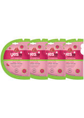 YES TO - yes to Watermelon Super Fresh Paper Mask - 4 Pack Bundle - CREMEMASKEN