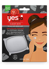 yes to Tomatoes Detoxifying Charcoal Sleeping Mask 4ml