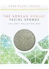 THE KONJAC SPONGE - The Konjac Sponge Company The Elements Earth Facial Sponge - Energising Tourmaline 30g - TOOLS - REINIGUNG