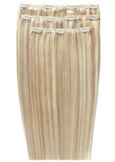 BEAUTY WORKS - Beauty Works Deluxe Clip-In Hair-Extensions 18 Zoll - LA Blonde 613/24 - EXTENSIONS & HAARTEILE