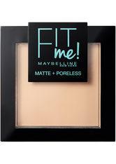 Maybelline Fit Me Matte & Poreless Powder (verschiedene Farbtöne) - 110 Porcelain