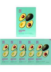 Holika Holika Pure Essence Mask Sheet (5 Masks) 155ml (Various Options) - Avocado