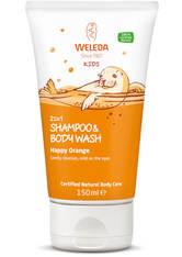 Weleda Produkte Kids - 2in1 Shower & Shampoo Orange 150ml Duschgel 150.0 ml