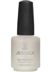 JESSICA NAILS - Jessica Top Priority Topcoat (14,8 ml) - NAGELLACK