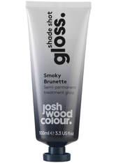 JOSH WOOD COLOUR - Josh Wood Colour Shade Shot Gloss Smoky Brunette Treatment 100ml - HAARTÖNUNG