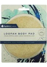 HYDREA LONDON - Hydrea London Organic Egyptian LoofahExfoliating Body Pad - Körpercreme & Öle