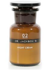 DR. JACKSON'S - Dr. Jackson's - Skin Cream 02 Night, 50 Ml – Hautcreme - one size - NACHTPFLEGE
