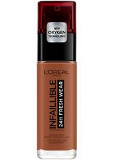 L'Oréal Paris Infallible 24hr Freshwear Liquid Foundation (Various Shades) - 375 Dark Amber