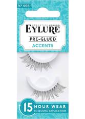 EYLURE - Eylure Pre-Glued Accents 003 False Lashes - Falsche Wimpern & Wimpernkleber
