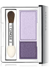 CLINIQUE - Clinique All About Shadow Lidschattenduo Twilight Mauve/Brandied Plum - LIDSCHATTEN