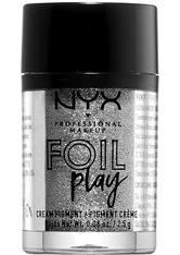 NYX Professional Makeup Foil Play Cream Pigment Eyeshadow (verschiedene Farbtöne) - Radiocast