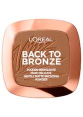 L'ORÉAL PARIS - L'Oréal Paris Matte Bronzing Powder - Back To Bronze 9g - CONTOURING & BRONZING