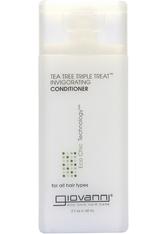GIOVANNI - Giovanni Tea Tree Triple Treat Conditioner 60ml - CONDITIONER & KUR