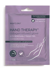 BEAUTYPRO - BeautyPro Hand Therapy Collagen Infused Glove with Removable Finger Tips (1 Paar) - PEELING & MASKE
