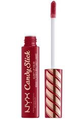 NYX PROFESSIONAL MAKEUP - NYX Professional Makeup Candy Slick Glowy Lip Gloss (Various Shades) - Single Serving - LIQUID LIPSTICK