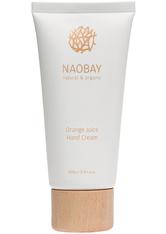 NAOBAY - Naobay natural & organic Orange Juice Hand Cream 100 ml - Handcreme - HÄNDE