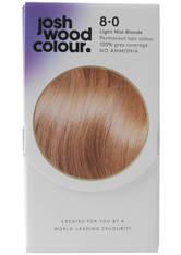 JOSH WOOD COLOUR - Josh Wood Colour 8 Light Mid-Blonde Colour Kit - HAARFARBE