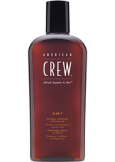 American Crew Haarpflege Hair & Body 3 in 1 Conditioner & Body Shampoo 450 ml