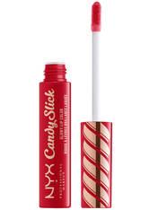 NYX PROFESSIONAL MAKEUP - NYX Professional Makeup Candy Slick Glowy Lip Gloss (Various Shades) - Jawbreaker - LIQUID LIPSTICK